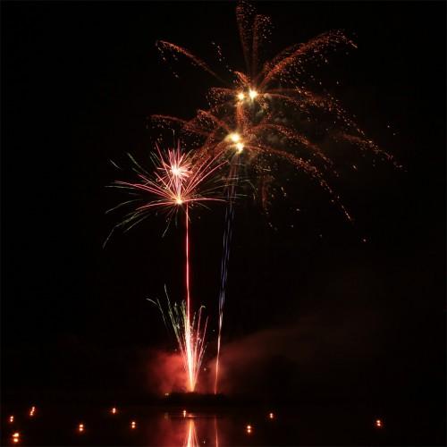 Bild 3: Impression vom Feuerwerk