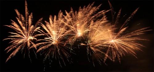 Feuerwerk vom ASV