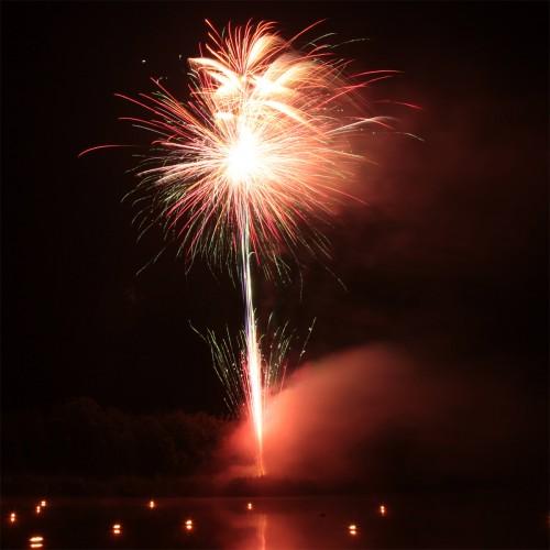 Bild 5: Impression vom Feuerwerk