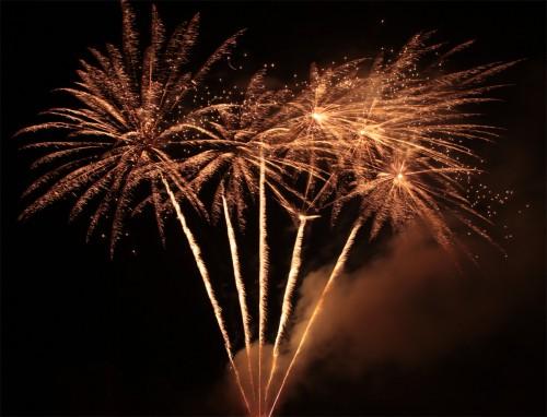 Bild 7: Impression vom Feuerwerk