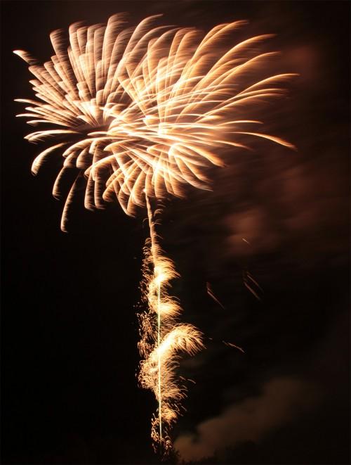 Bild 8: Impression vom Feuerwerk