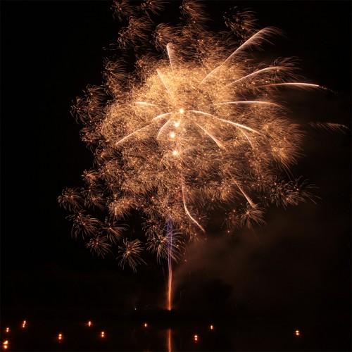 Bild 9: Impression vom Feuerwerk